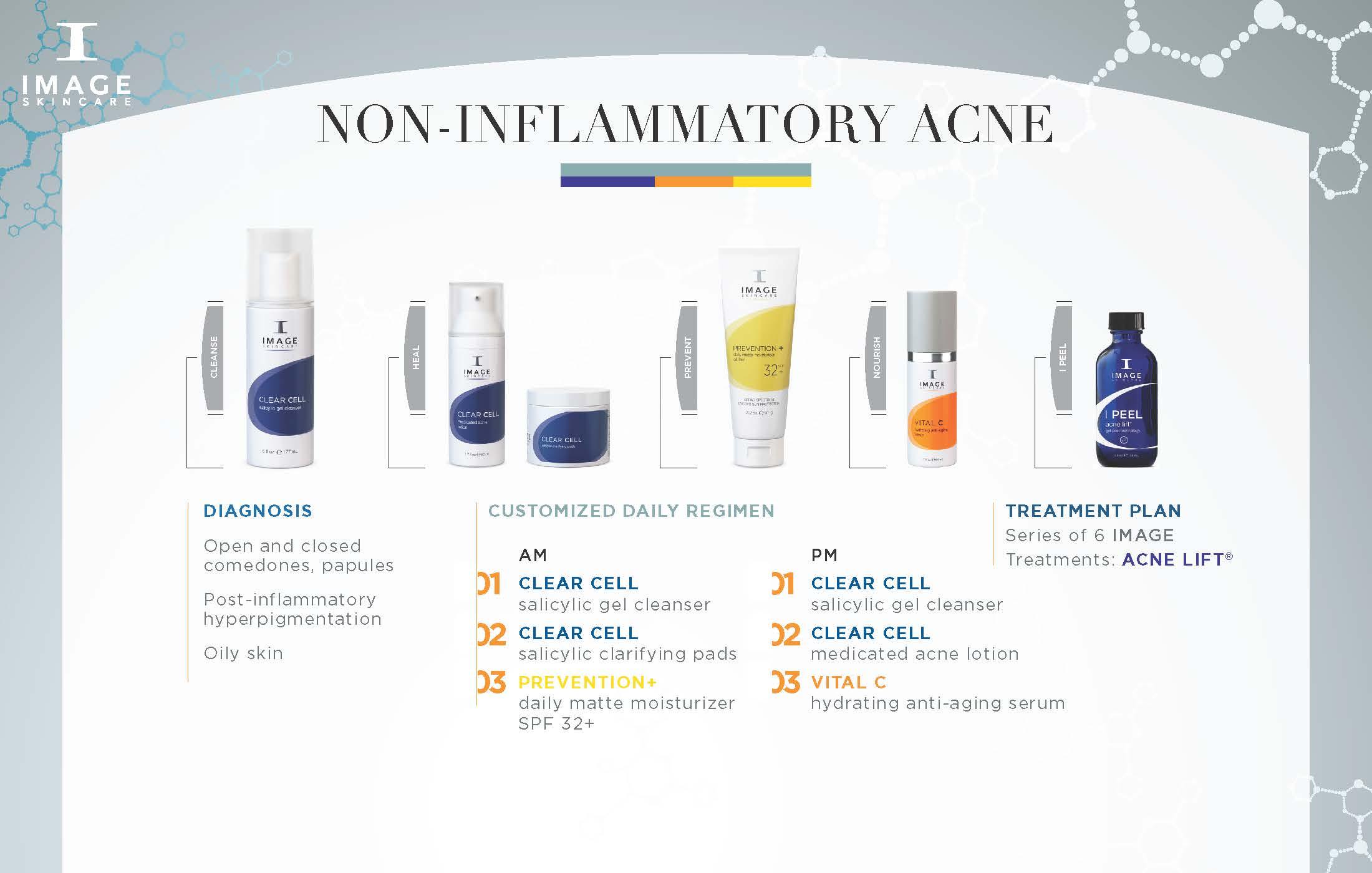 Non Inflammatory Acne Regimen Mystique Medical Day Spa